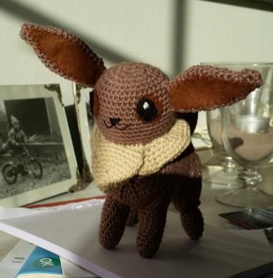 Pokemon Eevee af Annette Auchenberg