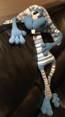 Dude, fra Little Owls Hut, hæklet af Pia Thomsen
