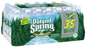 Poland Spring Bottled Water, 16.9 oz, 35 ct