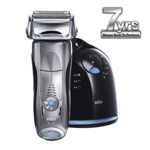 Braun Series 7- 790cc Pulsonic Shaver System, Silver