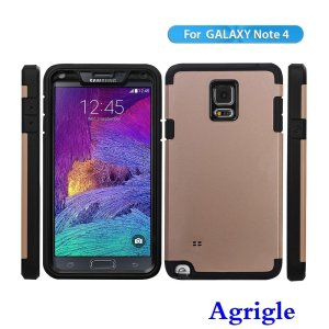 Note 4 Case, Samsung Galaxy Note 4 IV Case,Agrigle Brand [Splash ResistantDirtShockproof] Heavy Duty Hybrid Armor Protection Defende