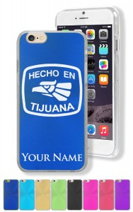 Personalized Case for Apple iPhone 6 Plus (5.5) - HECHO EN TIJUANA - Engraved for FREE