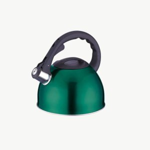 Peterhof 2.5 Liter Whistling Kettle Stainless Steel PH-15585 (Green)