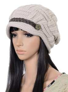 Fashion Women Knit Snow Hat Winter Snowboarding Beanie Crochet Cap Hats