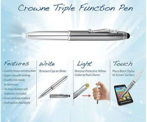 Top 10 Best Pens And Stylus With FlashLight For Phone, Tablete And iPad In 2015 Review