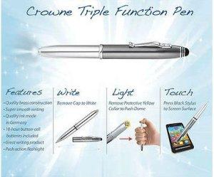 Crowne Tri Function Pen