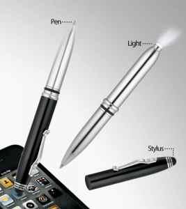 WizGear 3 in 1 Stylus Pen