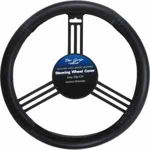 3. Pilot automotive black leather cover
