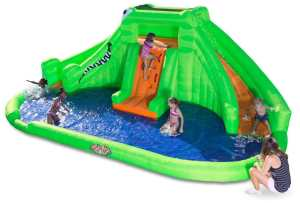 #4. Crocodile Isle Inflatable by Blast Zone