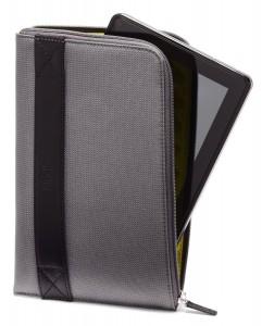 #8. Amazon Kindle Fire Zip Sleeve, Charcoal