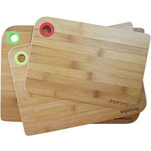 Bamboo Cutting Board Set – Eco-Friendly 3-Piec