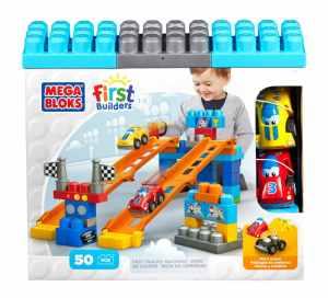 Mega Bloks First Builders Tracks Racew