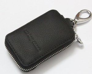 Universal Smart Key Chain of Leather Holder Cover Case