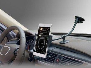Universal Smartphone Tablet Windshield Dashboard Car Mount Holder