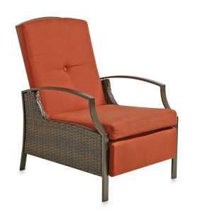 Wicker Adjustable Reclining Seat from Destination Summer