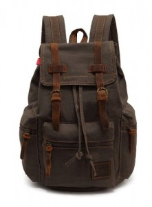 Abshoo Vintage Casual Canvas Backpack for College