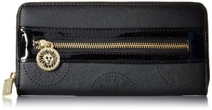 Anne Klein Signature Zip Around Wallet