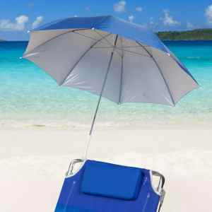 Clamp On Blue Beach Umbrella from Icetek Sports