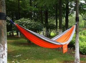 Ohuhu Portable Nylon Fabric Travel Hammock
