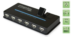 Plugable USB 2.0 High Speed Hub