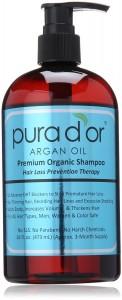 Pura d'or Hair Loss Organic Shampoo