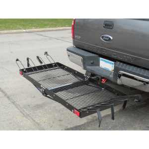 Tow Tuff Cargo Carrier with Bike Rack