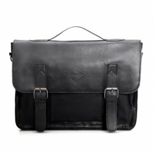 Zebella Vintage Leather Briefcase