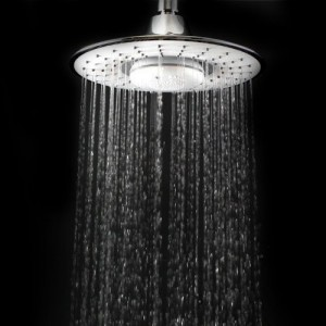 Ablehome 8 Inch Rainfall Shower Head w Bluetooth Music Player Make Hands Free Phone Calls