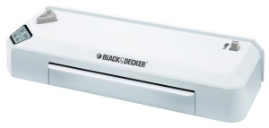 BLACK + DECKER Flash 9.5 Fast Heat Thermal Laminator, HotCold (LAM95)