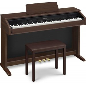 Casio AP250 Celviano 88-Key Digital Piano with Bench - Oak Brown