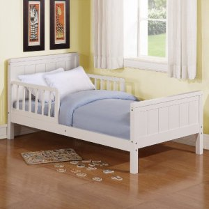 Dorel Asia Toddler Bed, White