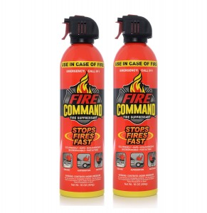 Fire Command FC-16OZFS-02 Fire Suppressant - 16 oz., (Pack of 2)
