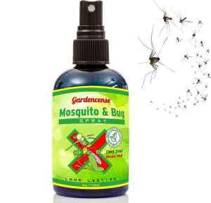 Mosquito Repellent Spray - All Organic Insect Deterrent - Repel Mosquitoes & Bugs Naturally - Most Effective Ingredients Safe for Kids & Adults - Sat