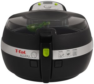 T-fal FZ7002 ActiFry Low-Fat Healthy Dishwasher Safe Multi-Cooker, Black