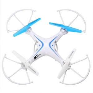 UTO Drone FX7C Quadcopter Quad Copter With HD Camera RTF FPV Headless Mode 2.4Ghz 6 Axis Gyro RC Ready To Fly Toys White