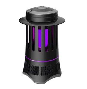 AGPtek® 110-220V Indoor Electric LED Inhale Mosquito Killer UV Lamp (Black)
