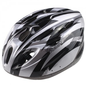 AGPtek Adult Bicycle Helmet, BlackSilver, L