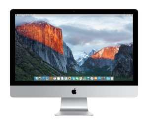 Apple iMac MK462LLA 27-Inch Retina 5K Desktop (3.2 GHz Intel Core i5, 8GB DDR3, 1TB, Mac OS X), Silver