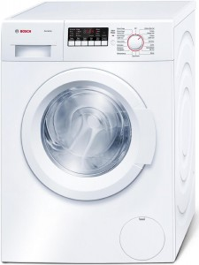 Bosch WAP24200UC Ascenta 300 2.2 Cu. Ft. White Stackable Front Load Washer - Energy Star