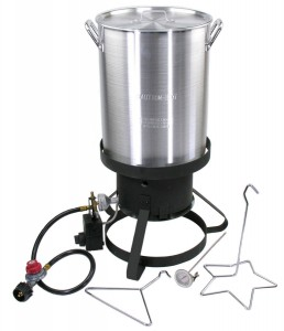 Cajun Injector Gas Turkey Fryer