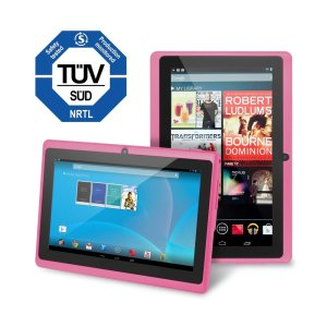 Chromo Inc 7 Tablet Google Android 4.4 with Touchscreen, Camera, 1024x600 Resolution, Netflix, Skype, 3D Game Supported - Pink