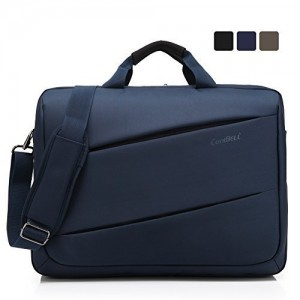 CoolBell(TM)17.3 inch Unisex Laptop Shoulder Bag Waterproof Oxford Cloth with Strap Messenger tablet Bag Briefcase Mu