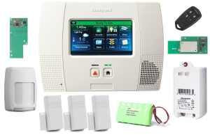 Honeywell Wireless Lynx Touch L5200 Home AutomationSecurity Alarm Kit with Wifi and Zwave Module