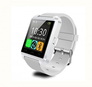 LEMFO Bluetooth Smart Watch WristWatch U8 UWatch Fit for Smartphones IOS Apple iphone 44S55C5S Android Samsung S2S3S4Note 2Note 3 HTC Sony Blackberry (Wh