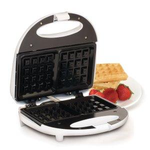 MaxiMatic EWM-9008K Elite Cuisine Waffle Maker with Non-Stick, White