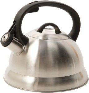 Mr. Coffee 91407.02 Flintshire Stainless Steel Whistling Tea Kettle, 1.75-Quart