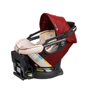 Orbit Baby G3 Infant Car Seat Plus Base, Ruby