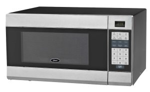 Oster OGZB1101-B 1.1 Cubic Foot Digital Microwave Oven, Black