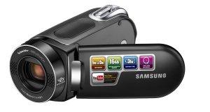 Samsung SMX-F34 Flash Memory Camcorder w16GB Memory & 42x Intelli-Zoom (Black)