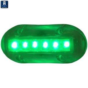 TH Marine LED-51868-DP Underwater Light, Green